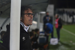 November 3, 2018 - Vercelli, Italy - Italian Pro Vercelli's coach Grieco Vito during Saturday evening's match against Novara Calcio valid for the 10th day of the Italian Lega Pro championship  (Credit Image: © Andrea Diodato/NurPhoto via ZUMA Press)