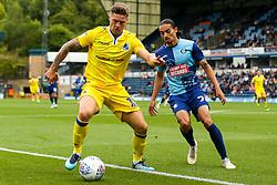 James Clarke of Bristol Rovers takes on Randell Williams of Wycombe Wanderers - Mandatory by-line: Robbie Stephenson/JMP - 18/08/2018 - FOOTBALL - Adam's Park - High Wycombe, England - Wycombe Wanderers v Bristol Rovers - Sky Bet League One