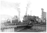 D&RGW #464, #491 and #492 on the Durango roundhouse leads.<br /> D&RGW  Durango, CO