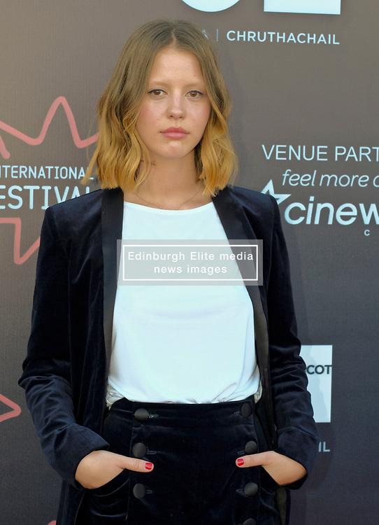 Edinburgh International Film Festival, Thursday, 21st June 2018<br /> <br /> THE SECRET OF MARROWBONE (UK PREMIERE)<br /> <br /> Pictured: Mia Goth<br /> <br /> (c) Aimee Todd   Edinburgh Elite media