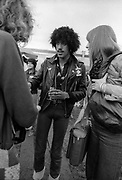 Thin Lizzy and  Phil Lynott backstage at Reading Festival 1979