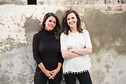 BIRMINGHAM, AL – SEPTEMBER 4, 2019: Portrait of Melissa Baker and Elizabeth Stewart.
