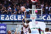 Gani Lawal<br /> Red October Cantu' Banco di Sardegna Sassari<br /> Basket serie A 2016/2017<br /> Milano 23/10/2016<br /> Foto Ciamillo-Castoria<br /> Provvisorio