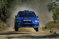 AUTO - WRC 2003 - CYPRUS RALLY -  20030622 -  7 - PETTER SOLBERG - PHILL MILLS / SUBARU IMPREZA WRC - ACTION<br />PHOTO : FRANCOIS FLAMAND /DIGITALSPORT