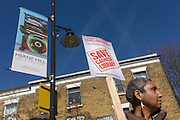 Local campaigners protest the closure by Lambeth council of Carnegie Library, in Herne Hill, south London. The angry local community in the south London borough have occupied their important resource for learning and social hub for the weekend. After a long campaign by locals, Lambeth have gone ahead and closed the library's doors for the last time because they say, cuts to their budget mean millions must be saved. A gym will replace the working library and while some of the 20,000 books on shelves will remain, no librarians will be present to administer it. London borough's budget cuts mean four of its 10 libraries will either close, move or be run by volunteers.