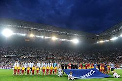 10-06-2012 VOETBAL: UEFA EURO 2012 DAY 3: POLEN OEKRAINE<br /> UEFA Euro 2012 Group B Match between Germany and Portugal at the Arena Lviv, Lviv, Ukraine / Line up <br /> ***NETHERLANDS ONLY***<br /> ©2012-FotoHoogendoorn.nl