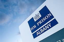 HMP Albany gate