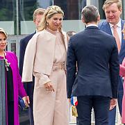 LUX/Luxemburg/20180524 - Staatsbezoek Luxemburg dag 2, Groothertogin Maria Teresa, Koning Willem Alexander, Koningin Maxima en Groothertog Henri