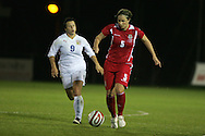 2011 FIFA Women's World Cup Qualifying match, Wales v Czech Republic at Stebonheath Park, Llanelli on Wed 23rd September 2009. pic by Andrew Orchard..Emma Jones of Wales