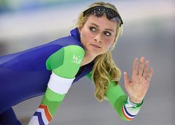 11-12-2015 NED: ISU World Cup, Heerenveen<br /> 3000 meter vrouwen / Irene Schouten NED