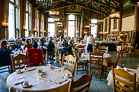 Dining room, Ahwahnee Hotel, Yosemite, California, USA, 201304171501<br />
