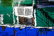 The Floating Homes of Fisherman's Wharf in Victoria, BC<br /> Abstract photography