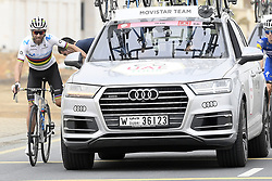 March 1, 2019 - Dubai, Emirati Arabi Uniti - Foto LaPresse - Fabio Ferrari.01 Marzo 2019 Dubai (Emirati Arabi Uniti).Sport Ciclismo.UAE Tour 2019 - Tappa 6 - da Ajman a Jebel Jais - 180 km.Nella foto:VALVERDE Alejandro (ESP) MOVISTAR TEAM.Photo LaPresse - Fabio Ferrari.March 01, 2019 Dubai (United Arab Emirates) .Sport Cycling.UAE Tour 2019 - Stage 6 - From Ajman To Jebel Jais  - 112 miles..In the pic:VALVERDE Alejandro (ESP) MOVISTAR TEAM (Credit Image: © Fabio Ferrari/Lapresse via ZUMA Press)