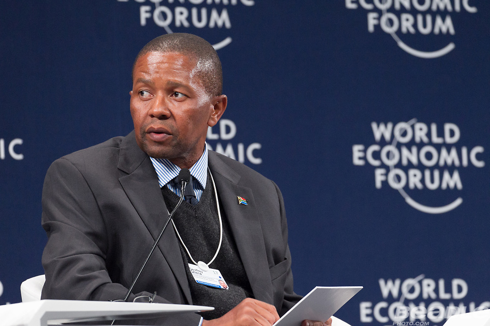 Geoffrey Qhena, Chief Executive Officer<br /> Industrial Development Corporation of South Africa at the World Economic Forum on Africa 2017 in Durban, South Africa. Copyright by World Economic Forum / Greg Beadle