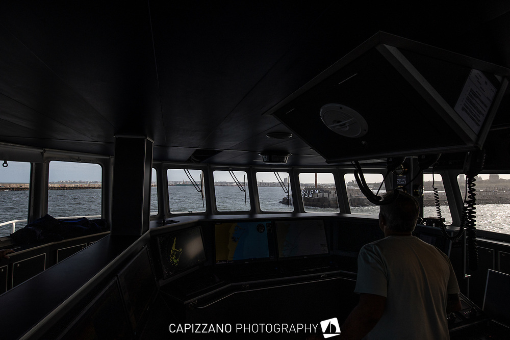 A Bordo del buque Federico C