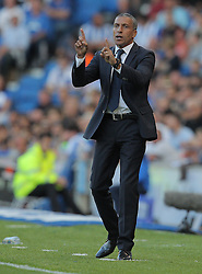 Brighton & Hove Albion Manager Chris Hughton - Mandatory byline: Paul Terry/JMP - 07966386802 - 07/08/2015 - FOOTBALL - Falmer Stadium -Brighton,England - Brighton v Nottingham Forest - Sky Bet Championship