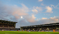 A general view of the action inside Turf Moor<br /> <br /> Photographer Alex Dodd/CameraSport<br /> <br /> UEFA Europa League - UEFA Europa League Qualifying Second Leg 2 - Burnley v Olympiakos - Thursday August 30th 2018 - Turf Moor - Burnley<br />  <br /> World Copyright © 2018 CameraSport. All rights reserved. 43 Linden Ave. Countesthorpe. Leicester. England. LE8 5PG - Tel: +44 (0) 116 277 4147 - admin@camerasport.com - www.camerasport.com