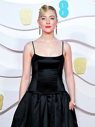 Saoirse Ronan attending the 73rd British Academy Film Awards held at the Royal Albert Hall, London.