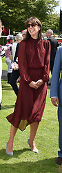 29 July 2021 - The QATAR Goodwood Festival Ladies Day at Goodwood Racecourse, West Sussex.<br /> Picture Shows -  Nelson Rycroft, Lady Flora Rycroft, Samantha Cameron and Viscount Astor.<br /> <br /> NON EXCLUSIVE - WORLD RIGHTS