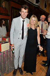 CHARLIE McCORMICK and CINDY RICHARD at a party to celebrate the publication of English Houses by Ben Pentreath held at the Art Worker's Guild, 6 Queen Square, London on 28th September 2016.