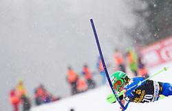 JAZBEC Patrick of Slovenia competes during the 1st Run of 10th Men's Slalom - Pokal Vitranc 2013 of FIS Alpine Ski World Cup 2012/2013, on March 10, 2013 in Vitranc, Kranjska Gora, Slovenia. (Photo By Vid Ponikvar / Sportida.com)
