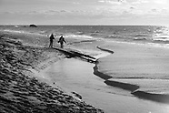 """Cape May """"Ghost Tracks"""" Reappear on Beach"""