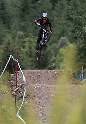 Amaury Pierron of Commencal - Lac Blanc during day two of the 2017 UCI Mountain Bike World Cup at Fort William. PRESS ASSOCIATION Photo. Picture date: Sunday June 4, 2017. Photo credit should read: Tim Goode/PA Wire. RESTRICTIONS: Editorial use only, no commercial use without prior permission