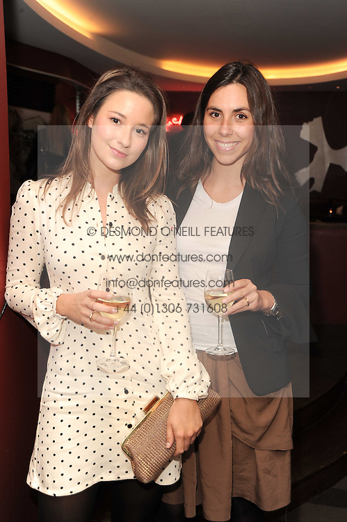A party to promote the exclusive Puntacana Resort & Club - the Caribbean's Premier Golf & Beach Resort Destination, was held at The Groucho Club, 45 Dean Street London on 12th May 2010.<br /> <br /> Picture shows:-Left to right, KELLY EASTWOOD and BEATRICE SAVORETTI