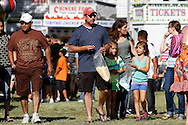 Families stroll along the midway at the Contra Costa County Fair in Antioch on Sunday, June 3, 2012.  (Photo by Kevin Bartram)