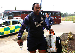 Sione Faletau of Bristol Rugby arrives at Castle Park for the B&I fixture against Doncaster Knights - Mandatory by-line: Robbie Stephenson/JMP - 13/01/2018 - RUGBY - Castle Park - Doncaster, England - Doncaster Knights v Bristol Rugby - B&I Cup