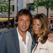 NLD/Amsterdam/20060520 - Huwelijk Edwin van der Sar en Annemarie van Kesteren, John van 't Schip en partner Danielle Oonk