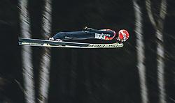 16.02.2020, Kulm, Bad Mitterndorf, AUT, FIS Ski Flug Weltcup, Kulm, Herren, 2. Wertungsdurchgang, im Bild Markus Eisenbichler (GER) // Markus Eisenbichler of Germany during his 2nd Competition Jump for the men's FIS Ski Flying World Cup at the Kulm in Bad Mitterndorf, Austria on 2020/02/16. EXPA Pictures © 2020, PhotoCredit: EXPA/ Dominik Angerer