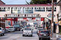 United States, California, Monterey. Cannery Row is the waterfront street in the city of Monterey.