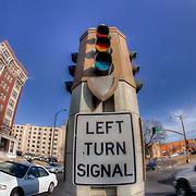 Intersection of Paseo and Linwood, Kansas City, Missouri.