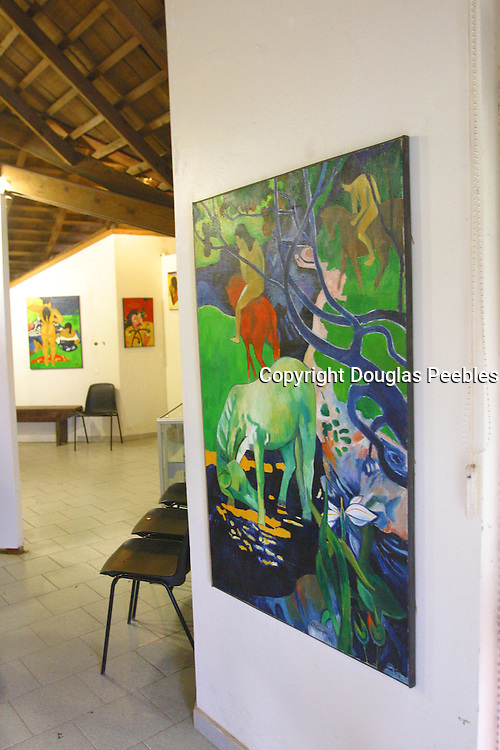 Gauguin Museum, Atuona, Marquesas, French Polynesia<br />