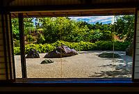 Sekitei (rock garden), Japanese Friendship Garden, Balboa Park, San Diego, California USA.