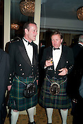 DAVID KING; JOHN ROBERTSON-MCQUISIC, The Royal Caledonian Ball 2010. Grosvenor House. Park Lane. London. 30 April 2010 *** Local Caption *** -DO NOT ARCHIVE-© Copyright Photograph by Dafydd Jones. 248 Clapham Rd. London SW9 0PZ. Tel 0207 820 0771. www.dafjones.com.<br /> DAVID KING; JOHN ROBERTSON-MCQUISIC, The Royal Caledonian Ball 2010. Grosvenor House. Park Lane. London. 30 April 2010