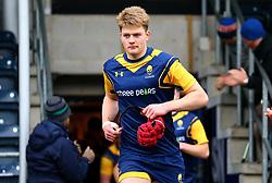 Tom Fawcett (Warwick School) of Worcester Warriors Under 18s - Mandatory by-line: Robbie Stephenson/JMP - 14/01/2018 - RUGBY - Sixways Stadium - Worcester, England - Worcester Warriors Under 18s v Yorkshire Carnegie Under 18s - Premiership Rugby U18 Academy