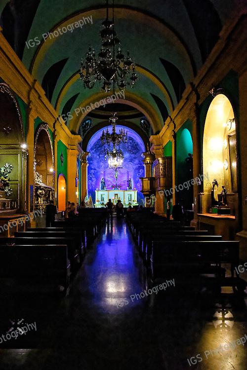 Church and Convent of Santo Domingo. Veracruz chapel