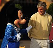 NCAA Football-Rose Bowl Disneyland Visit-Dec 26, 2006