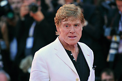 File photo - Robert Redford arriving at The Company You Keep premiere as part of the 69th International Venice Film Festival, on September 6, 2012 in Venice, Italy. Oscar winner Robert Redford will retire from acting following this autumn's release of his upcoming film The Old Man & The Gun, the 81-year-old told Entertainment Weekly in a story published on Monday. Photo by Aurore Marechal/ABACAPRESS.COM