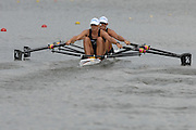 Amsterdam, HOLLAND, NZL W2X Bow, Georgina EVERS-SWINDELL and Caroline EVERS-SWINDELL, at the 2007 FISA World Cup Rd 2 at the Bosbaan Regatta Rowing Course. 23.06.2007[Mandatory Credit: Peter Spurrier/Intersport-images]...... , Rowing Course: Bosbaan Rowing Course, Amsterdam, NETHERLANDS