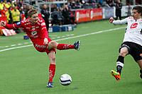Fotball, 05. Mai 2013, Tippeligaen Eliteserien , Sogndal - Brann<br /> Foto: Christian Blom , Digitalsport Erik Huseklepp Brann, Ruben Holsæter Sogndal