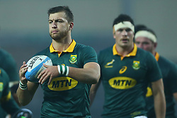 November 25, 2017 - Padova, Italy - Handre Pollard of South Africa during the Rugby test match between Italy and South Africa at Plebiscito Stadium in Padova, Italy on November 25, 2017. (Credit Image: © Matteo Ciambelli/NurPhoto via ZUMA Press)