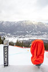 31.01.2020, Kandahar, Garmisch, GER, FIS Weltcup Ski Alpin, Abfahrt, Herren, 2. Training, im Bild Blick aus dem Starthaus der Kandahar // view from the start in action during his 2nd trainings run of men's Downhill of FIS ski alpine world cup at the Kandahar in Garmisch, Germany on 2020/01/31. EXPA Pictures © 2020, PhotoCredit: EXPA/ Johann Groder