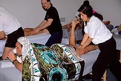 Post-Race Massage For 1993 Boston Marathon