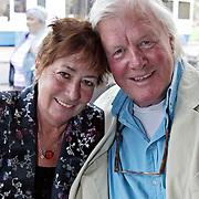 NLD/Amsterdam/20080904 - Presentatie DVDbox tvserie Mata Hari, Josine van Dalsum en partner John van der Rest