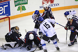 Ice-hockey match Finland vs USA at Qualifying round Group F of IIHF WC 2008 in Halifax, on May 11, 2008 in Metro Center, Halifax, Nova Scotia, Canada. (Photo by Vid Ponikvar / Sportal Images)