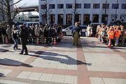 Sumo wrestling event South gate entrance Ryogoky stadium Tokyo