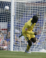 Patrick Agyemang scores.<br />Ipswich v Preston. Picture by Barry Bland 29/08/05
